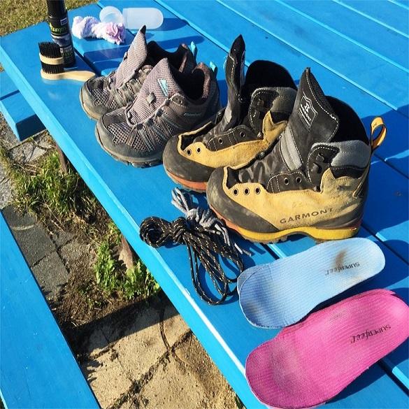 登山靴のお手入れ方法☆